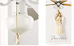 GiftCraft Ceiling Fan Pull, Angel