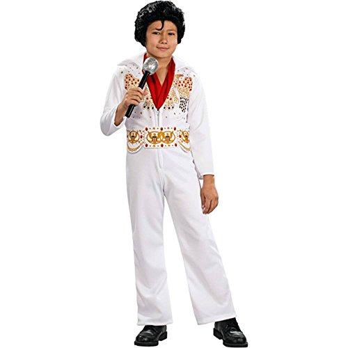 [Elvis Presley Kids Costume - Large (12-14)] (White Elvis Costumes)