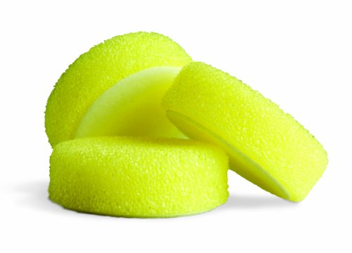 "Griot's Garage 10670 3"" Yellow Scrubbing Pad, (Set of 3)"