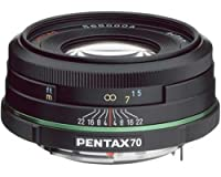 Pentax 70mm f/2.4 DA Limited Lens for Pentax and Samsung Digital SLR Cameras by Pentax