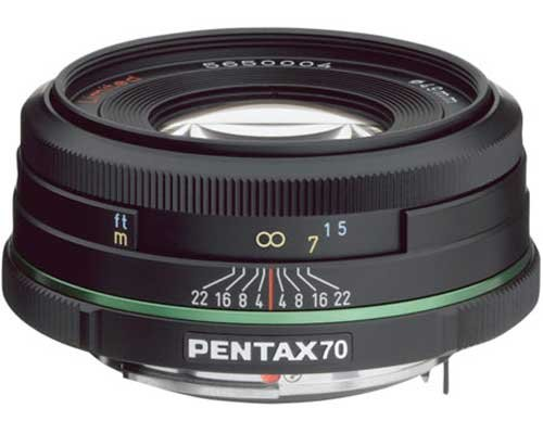 Pentax Imaging 21620 70mm f/2.4 Limited