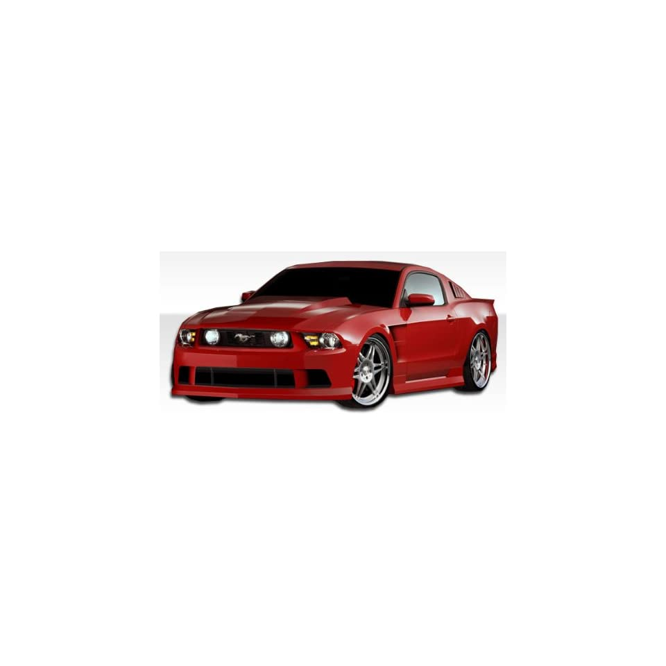 2010 2012 Ford Mustang Duraflex Hot Wheels Kit  Includes Hot Wheels Front bumper (105857) Hot Wheels Sideskirts (105858) Hot Wheels Rear bumper (105859) Hot Wheels Hood (105861) Hot Wheels Fenders (105860) Hot Wheels Window Scoops (105867) Hot Wheels Roof