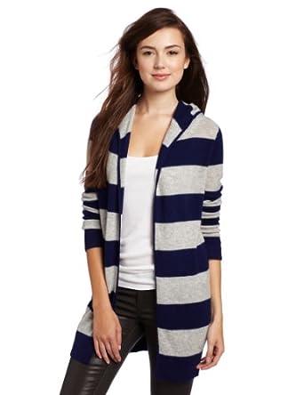 美国Christopher Fischer 女士100%纯羊绒开衫Cashmere Hoodie多色$99.23