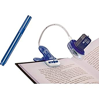 DOCTOR WHO DR146 Booklight with UV and Magic Pen (DR146) - (Gadgets Lights & Lighting Gadgets)