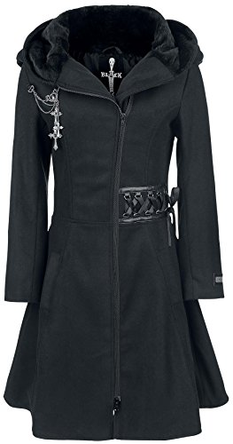 Alchemy Black Tears Coat Cappotto donna nero XL