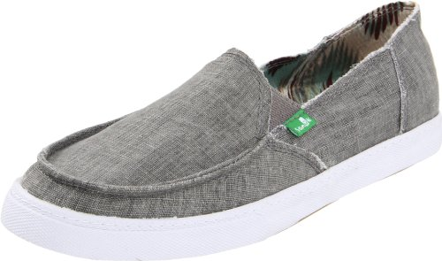 Sanuk Women's Standard Boho Slip-On,Grey,11 M US