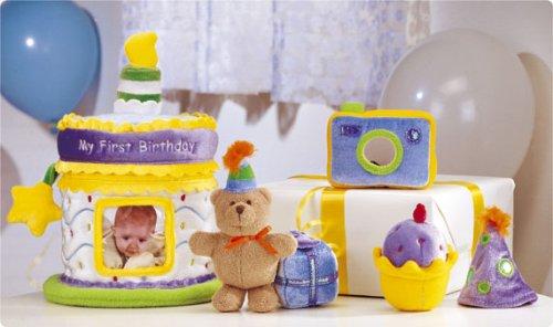 Imagen de Bebé Gund - Mi Primer Set de regalo de cumpleaños - Cake & Photo Album