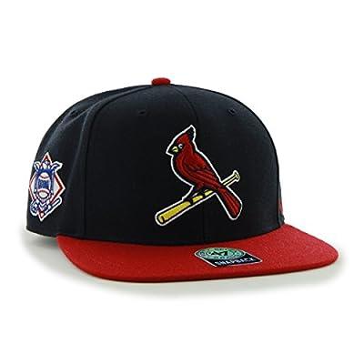 47 Brand St. Louis Cardinals Two-Toned Sure Shot Mens Snapback Hat B-SRSTT23WBP-NY