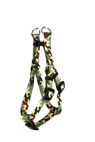 Yellow Dog Design Step-In Harness, X-Small, Camo
