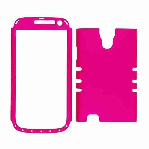 Unlimited Cellular Rocker Snap-On Case For Samsung Galaxy S4 Mini (Fluorescent Pearl Purple)