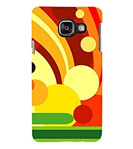 Animation Colourful Circle Pattern 3D Hard Polycarbonate Designer Back Case Cover for Samsung Galaxy A3 :: Samsung Galaxy A3 Duos :: Samsung Galaxy A3 A300F A300FU A300F/DS A300G/DS A300H/DS A300M/DS