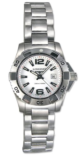 Longines Women's L32474166 HydroConquest White Dial Watch