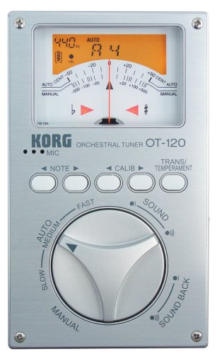 Korg OT-120 Wide 8 Octave Chromatic Orchestral Tuner