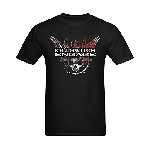 Men's Killswitch Engage Eye Of The Storm Vocal Cover Design T-Shirt