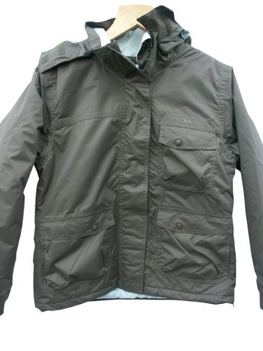 Womens Trespass Waterproof Jacket Ski Jacket Medium UK 12 FRAGMENT