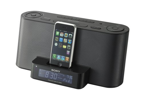 Sony ICF-C1IPMK2 Speaker Dock and Clock Radio with iPod Dock  Black