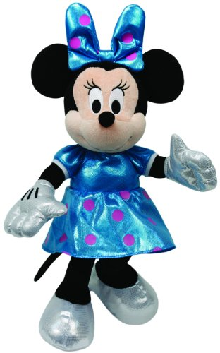 Ty Beanie Babies Minnie Teal Sparkle Plush - 1
