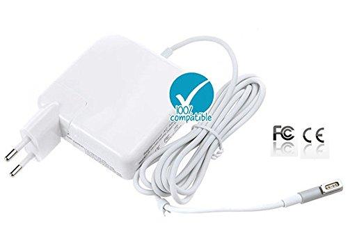 """Adattatore Alimentatore Caricabatteria Apple MacBook Pro 13"""" e 15"""" MagSafe 60 Watt LED Connettore Magnetico ad L (i modelli fino a tarda estate 2012)"""
