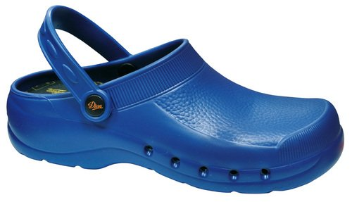 DIAN, Zoccoli donna blu Size: 38