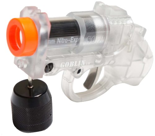 Goblin Air Sports Paintball Player Pistol Set, Clear (Grenade Launcher Bb Gun compare prices)