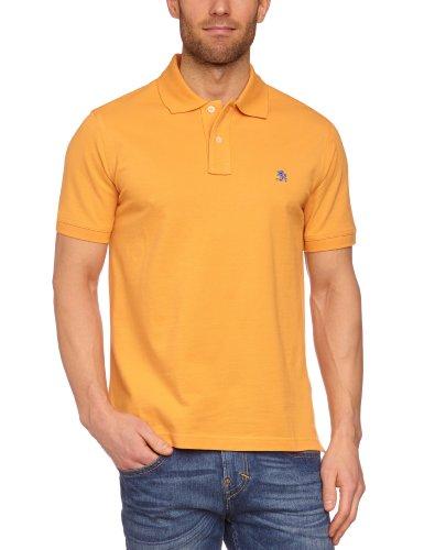 Otto Kern - Polo regular fit, manica corta, uomo Arancione (Orange (470)) S