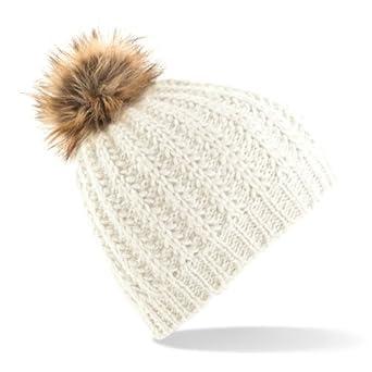 tricoter un bonnet a pompon