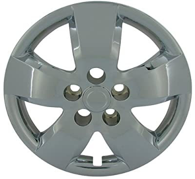 CCI IWC437-16C 16 Inch Bolt On Chrome Finish Hubcaps - Pack of 4