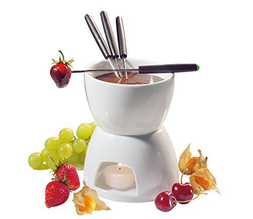 Cilio Porcelain Chocolate Fondue Set, White Reviews