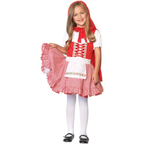 Lil Miss Red Costume - Medium (Lil Miss Red Costume compare prices)