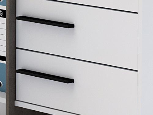 Eckschreibtisch schreibtisch arbeitstisch b rotisch for Schreibtisch thales