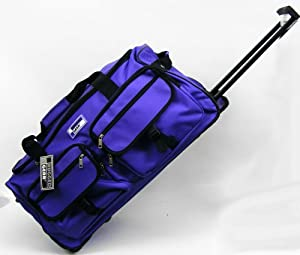 Rugged Gear 27 Large Wheeled Holdall - Purple