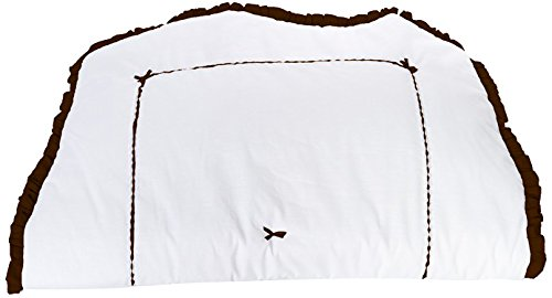 Baby Doll Unique Hotel Style Crib Comforter, Chocolate