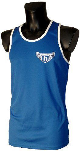 Hatton Boxing Polyester Club Vest Blue Youth