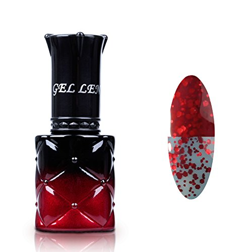 Gellen-New-Chameleon-Temperature-Color-Changing-UV-LED-Gel-Nail-Polish-8ml-1-Piece-Color-149