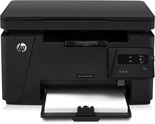 HP LaserJet Pro MFP M125a Multifunktion Laserdrucker (Drucker, Scanner, Kopierer, 600 x 600 dpi, USB)