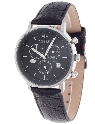 Haas  &  Cie. Chronograph Vitesse Black Gents Watch MFH211ZBA