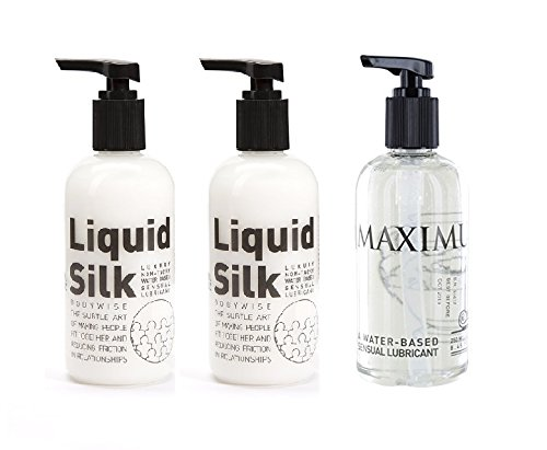 2-x-liquid-silk-water-based-lubricant-250ml-and-1-x-maximus-water-based-anal-lube-250ml