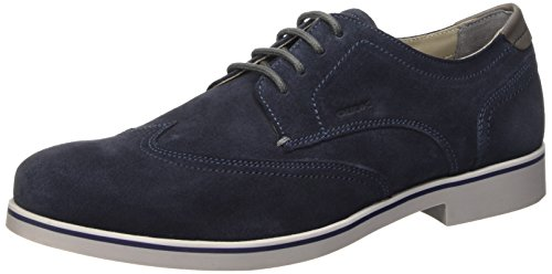 Geox U Danio A Scarpe Low-Top, Uomo, Blu (Navy), 44