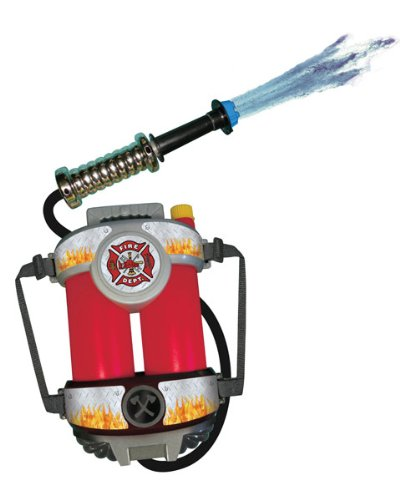 Super Soaking Fire Hose Toy With Back Pack front-836933