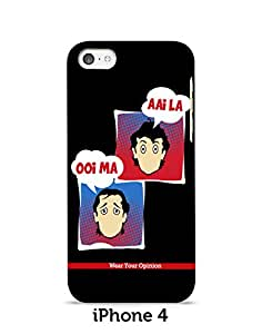 Wear Your Opinion, Mobile Cover, iPhone 4