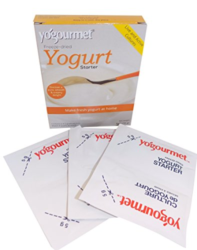 Yogourmet Freeze Dried Yogurt Starter, 1 ounce box (Pack of 3) (Packaging May Vary) (Starter Cultures compare prices)