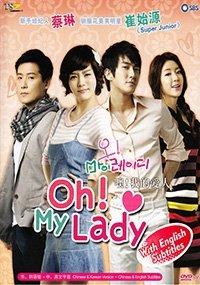 Oh My Lady (Ntsc All Region, Korean Tv Drama Dvd, English Sub, Complete Series 4 Dvds)