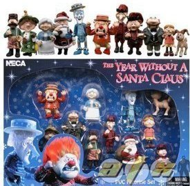 Amazon.com: Year without a Santa Claus PVC Figurine Set by ...