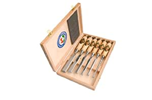 Two Cherries 500-1561 6-Piece Chisel Set in Wood Box