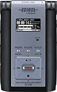 Edirol R-09 WAVE/MP3 Recorder-Black