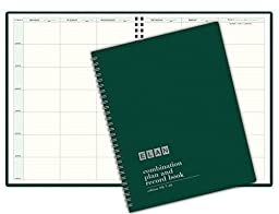 Combination Plan and Record Book: One efficient 8-1/2\