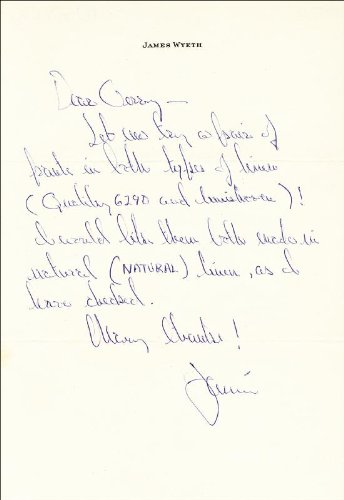 jamie-wyeth-autograph-letter-signed
