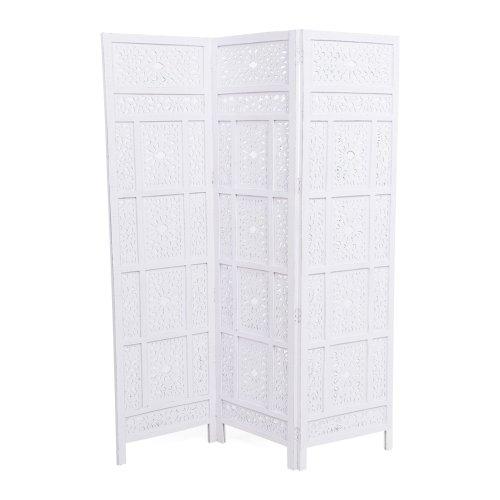 miaVILLA-Paravent–3-panneaux-cadre-en-bois-de-mangue-dcoration-en-bois-MDF-182-x-152-x-25-cm