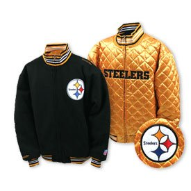 Pittsburgh Steelers Reversible Wool Jacket