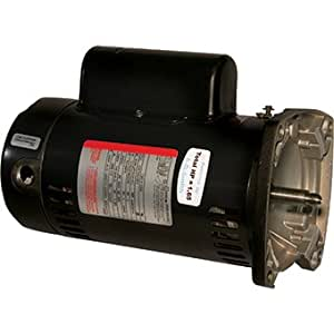 sta rite square flange pool pump motor 1 5